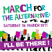 March for the Alternative - I'll be there